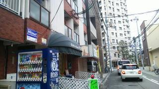 大阪阿倍野昭和町カイロプラクティック院へのアクセス・デジカメ左に曲がりまっすぐ