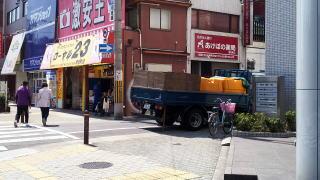 御堂筋線昭和町駅・2番出口付近