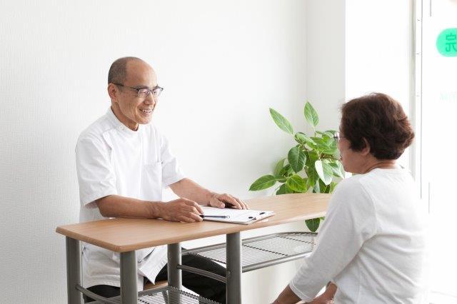 昭和町カイロプラクティック院での問診