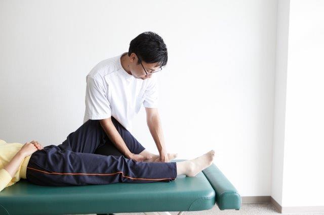 足首の歪みの調整