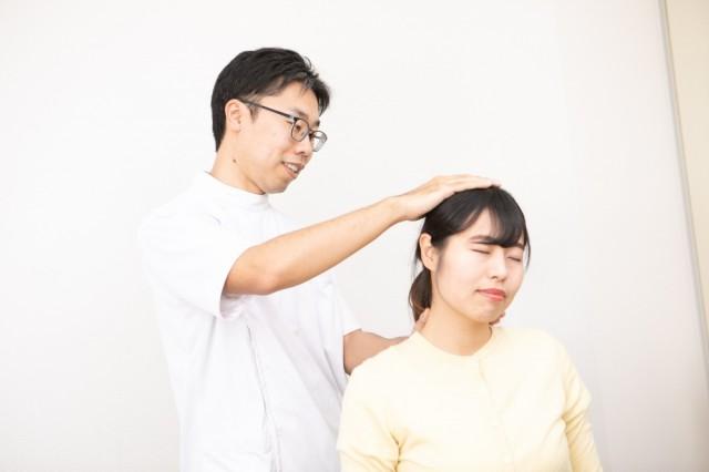 昭和町カイロプラクティック院の首の痛みテクニック1