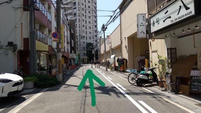 大阪阿倍野昭和町カイロプラクティック院へのアクセス・右にデイリーカナートイズミヤ